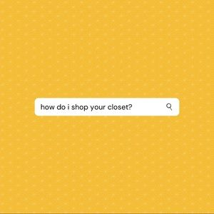 READ ME: how to shop my closet!
